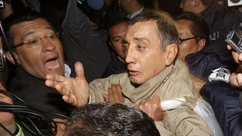 El exgobernador de Quintana Roo, Mario Villanueva.