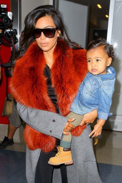Aunque en esta ocasión fue mejor que no la vistieran como Kim.