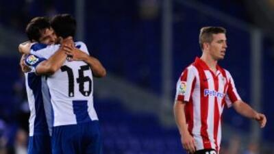 Víctor Sánchez marcó dos goles para encaminar la victoria de los 'Periqu...