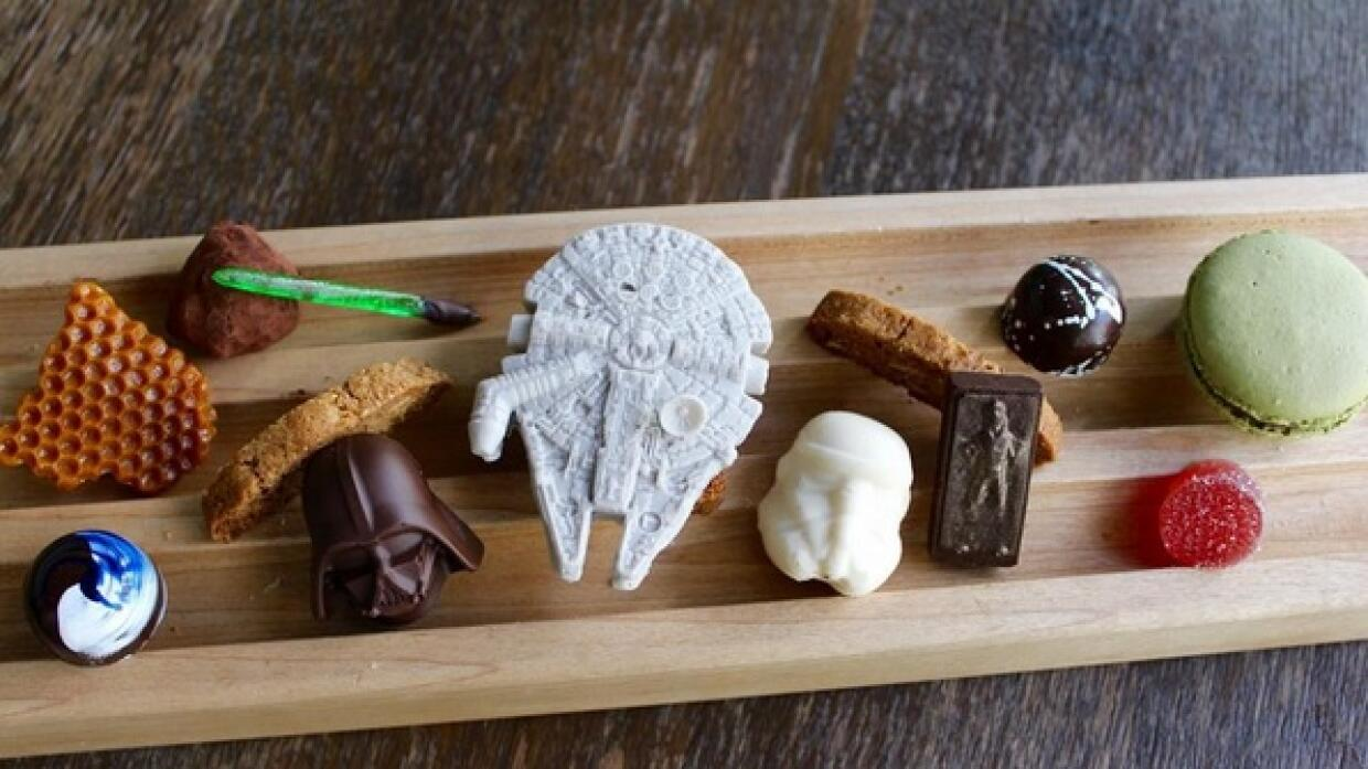 Chocolates de Star Wars