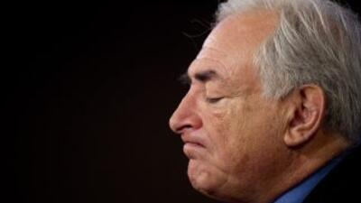 Dominique Strauss-Kahn, jefe del Fondo Monetario Internacional.