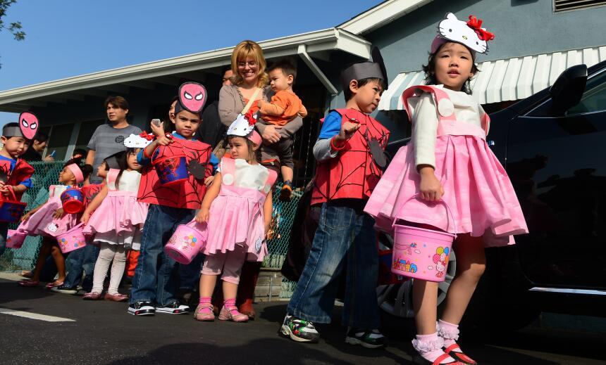 salud halloween niños