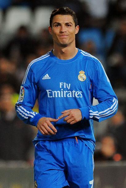Cristiano también se llevó el Pichichi de la temporada 2013-14 de la Lig...