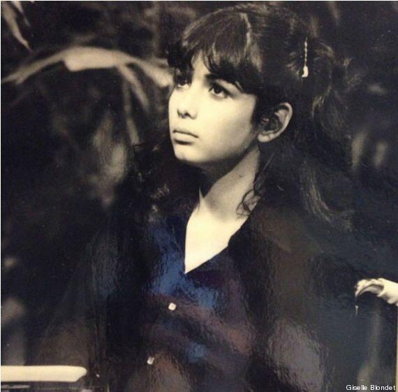 Giselle estudió en esa escuela y, en honor a su mamá, que siempre la apo...
