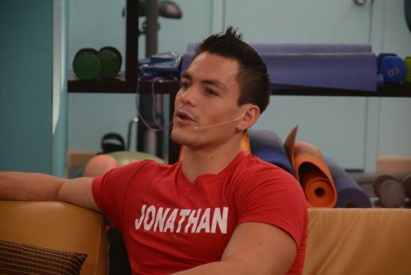 Jonathan quiso abrirse a sus compañeros y contar que su peque&nti...