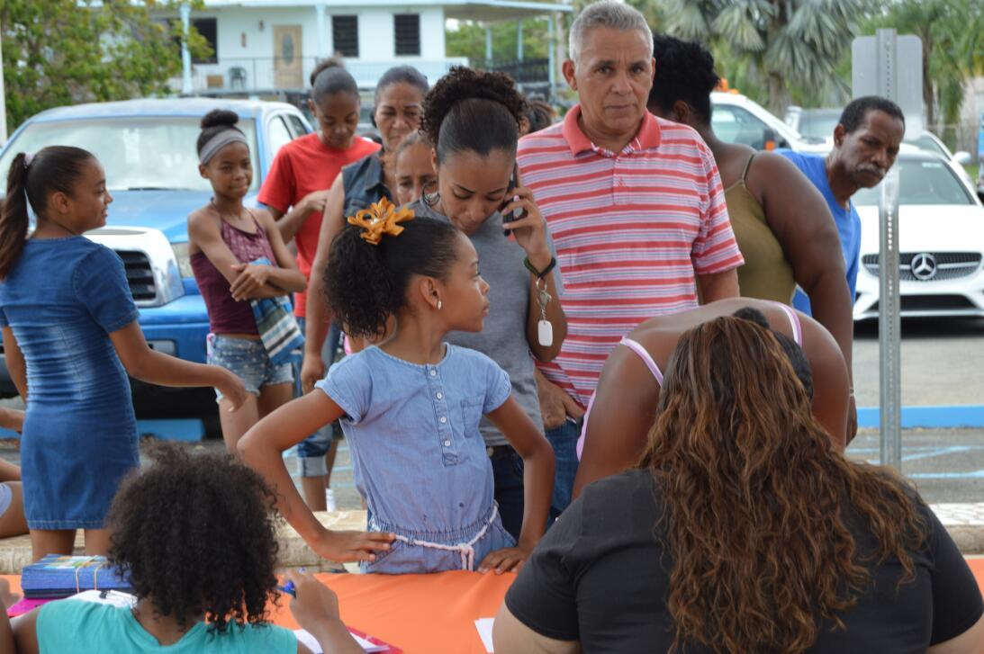 Más de mil personas afectadas por el huracán Irma en Loíza han pasado po...