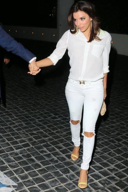El amor tiene a Eva Longoria en su mejor etapa. Con este look se volvió...