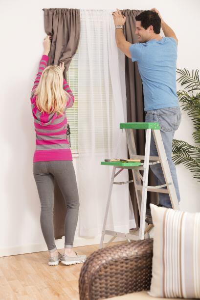 Las cortinas. ¿Hace cuánto no lavas tus cortinas? ¡No sabes cuánta difer...