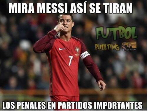 Portugal y Cristiano están semifnales de la Euro y los memes no s...