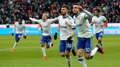 Schalke sorprende al Bayern de visita y se pone tercero general