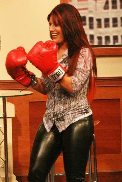 La cantante conoce este deporte y se muestra muy confiada para ganar.