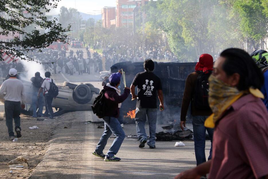 Enfrentamientos CNTE