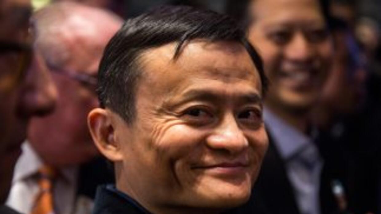 Jack Ma, el fundador de Alibaba.