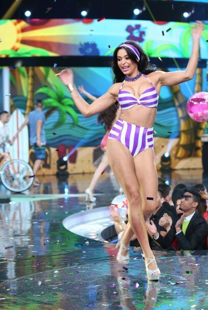 La dominicana Geisha Mostesdeoca es una mujer con un fuerte carácter, pe...