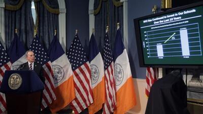 El alcalde Michael Bloomberg presentó hoy un presupuesto preliminar para...
