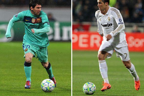 Messi y Ronaldo, el primer jugador de la historia que suma 40 tantos en...