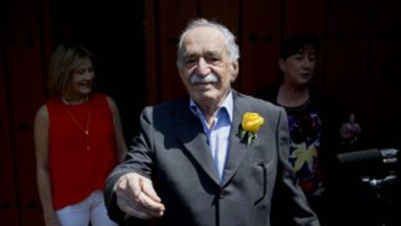 Gabriel García Márquez en una de sus últimas apariciones públicas.