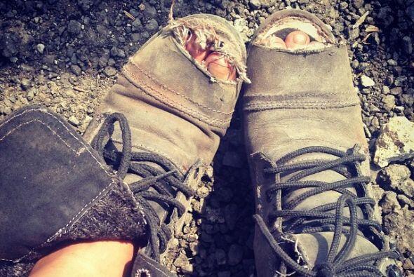Definitivamente le hacía falta un cambio de zapatos, sí que nos hacen re...