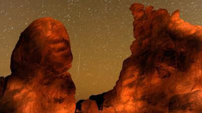Cómo ver esta noche las gemínidas, la lluvia de meteoros más activa del año