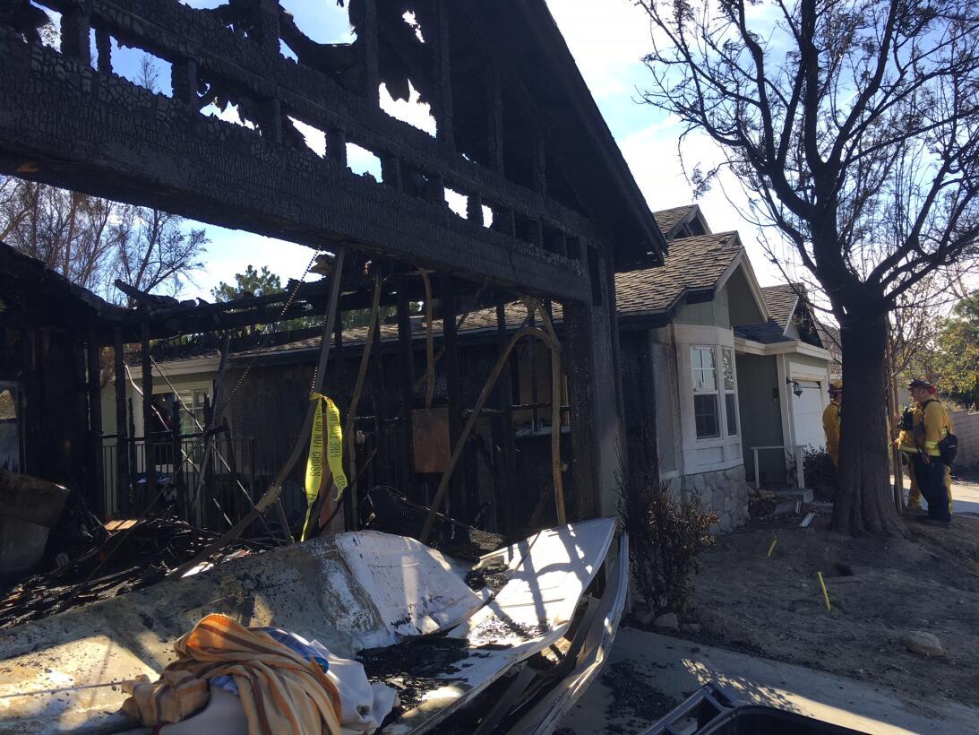 En fotos: Los rastros de la devastación que dejan los incendios en el su...