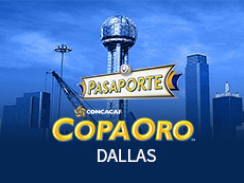 Promo Pasaporte Copa Oro Dallas