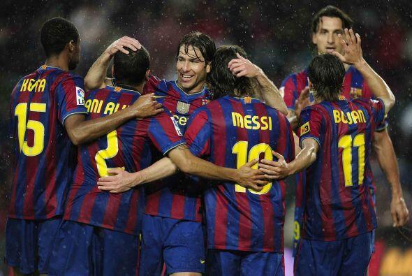 Lionel Messi movió el marcador al concretar una gran jugada para el 1-0.
