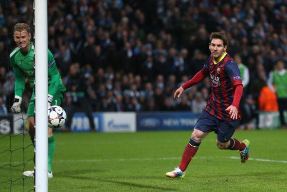 balón a las redes y el Barcelona tomaba ventaja.