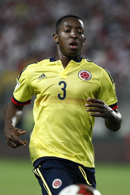 Óscar Murillo (Colombia): no jugó en el partido ante Paraguay (derrota 2...