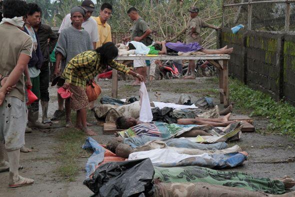 """La cifra de muertos por el tifón """"Bopha"""" en el sur de F..."""