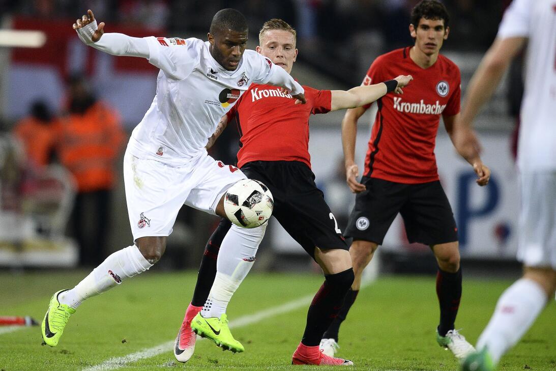 17. Anthony Modeste (Köln) - Una asistencia y 22 goles en la presente Bu...