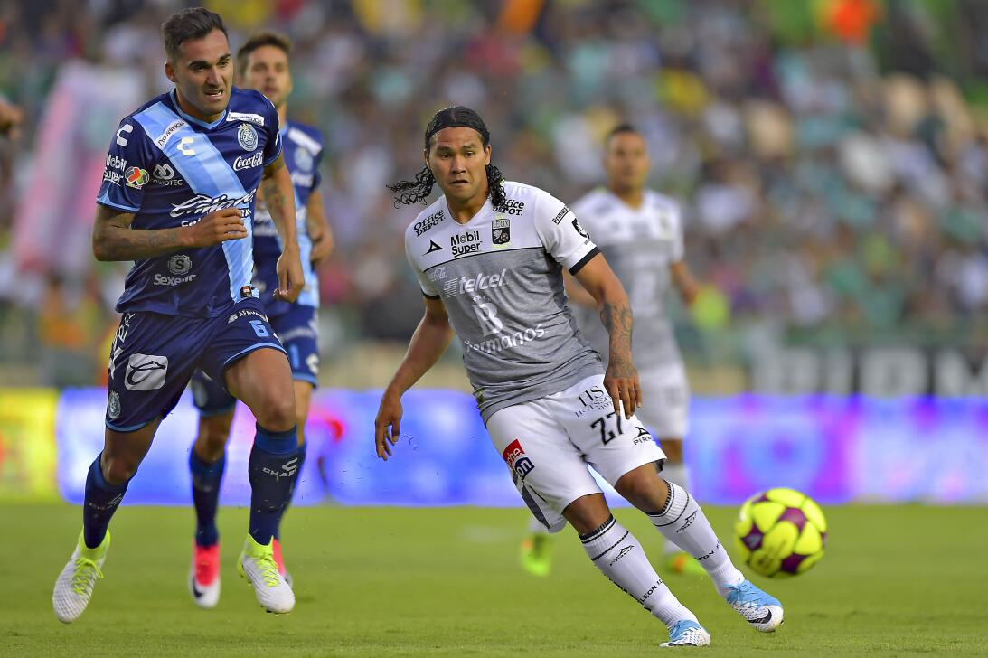 León vuelve a ganar y se acerca a la Liguilla Pablo Miguez Puebla y Carl...