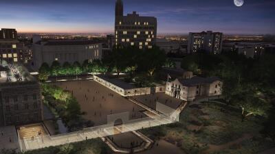 Proposed Alamo Master Plan