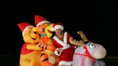 La cantante mexicana Cristina Eustace, ganadora de los Premios Texas y...