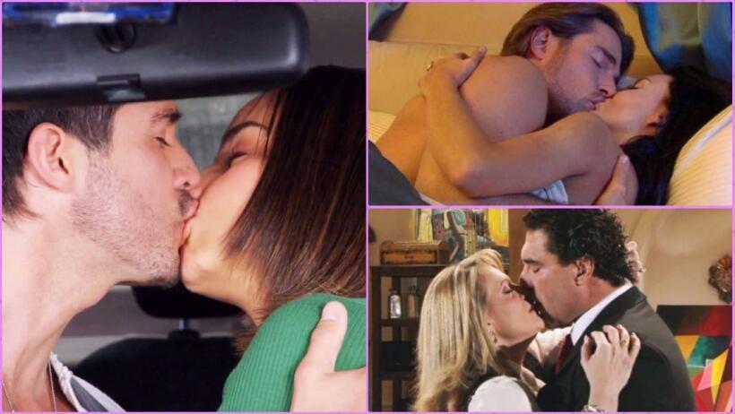 Inolvidables, así fueron estos apasionantes besos de telenovela