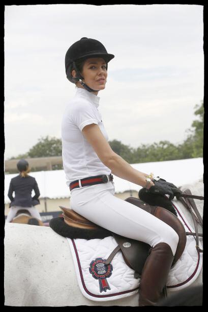 Carlota estuvo en París en una competencia. Más videos de Chismes aquí.