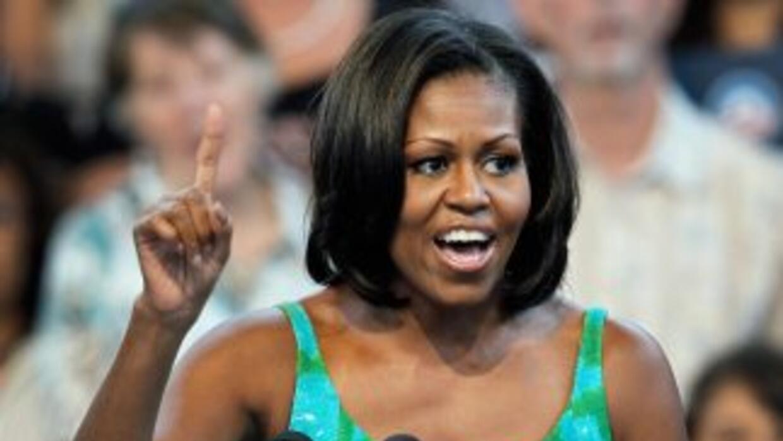 Michelle Obama, que fue duramente criticada en la campaña presidencial e...