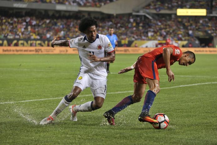 El ranking de los jugadores de Colombia vs Chile GettyImages-542243288.jpg