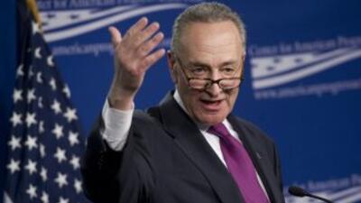 El senador Charles Schumer propuso aprobar la reforma y que ésta entre e...