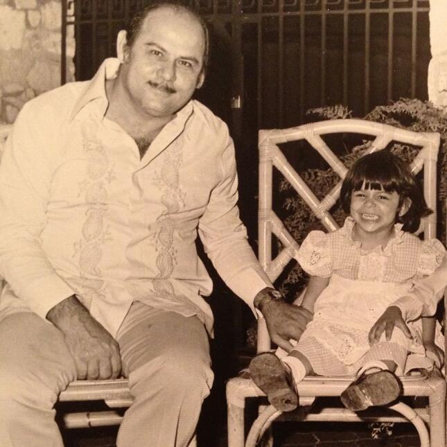 Lourdes Stephen papá