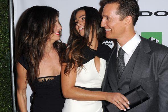 El año anterior, Sandra Bullock, Matthew McConaughey y Camila Alves la p...
