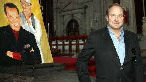 Mario Moreno Ivanova celebró junto a amigos y familiares una misa...