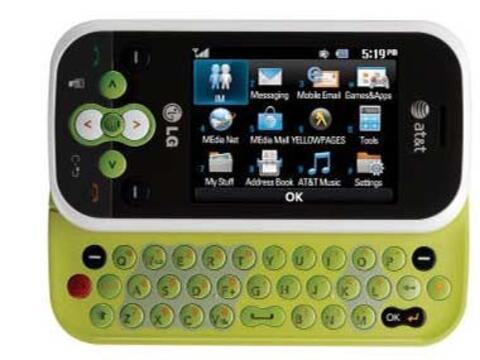 El LG Neon es un colorido teléfono que podrás conseguir po...