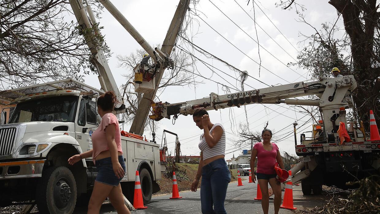 La recuperación de la red energética en Puerto Rico podría durar meses.