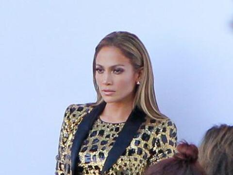 La hermosa Jennifer Lopez nos volvió a dejar con la boca abierta...