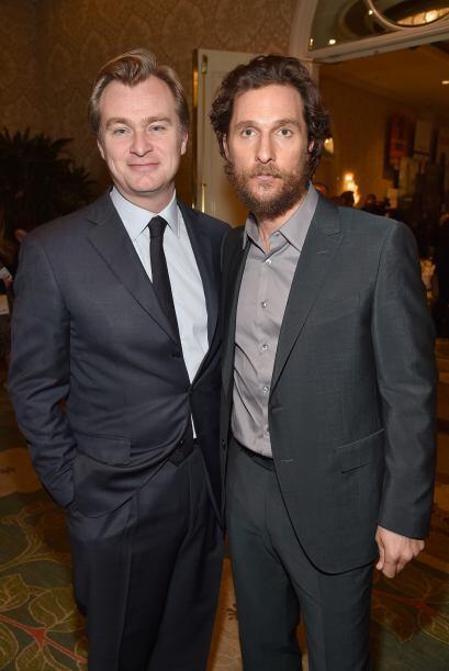 Nolan y su estrella de 'Interstellar', McConaughey