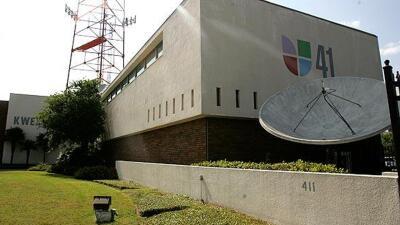 Instalación de Univision 41 en San Antonio.