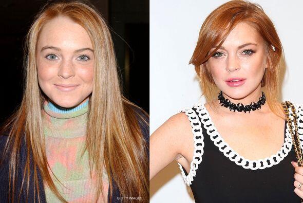 ¡Pero cómo ha cambiado esta mujer! Lindsay cumple hoy 28 años.