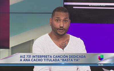 Rapero Aiz 731  habla de la canción sobre Ana Cacho