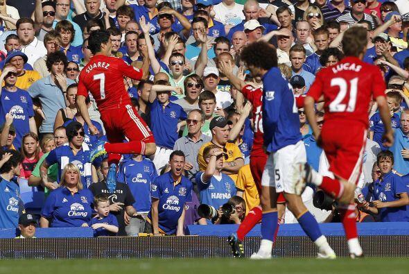 Y el premio final fue para el uruguayo Suárez. El delantero luchó y se m...
