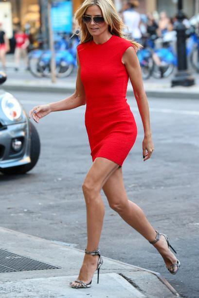 La ex modelo alemana dejó a varios caballeros con la boca abierta con es...